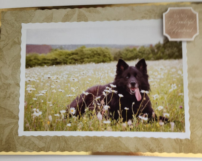 Pet Photo Greeting Card, Your Special Pet, Made To Order, Handmade In The UK