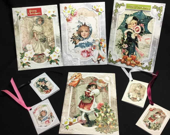 Vintage Christmas Cards, Merry Christmas, Festive Greetings, Vintage Christmas, Traditional Christmas, Celebrate Christmas, Handmade