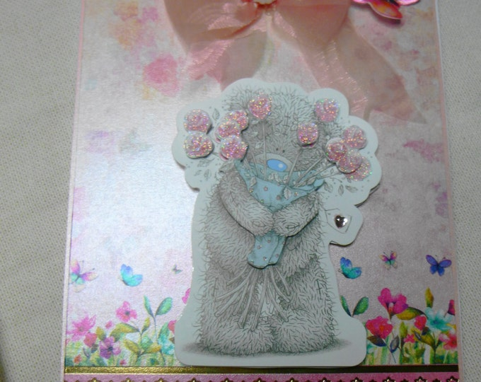 3D Decoupage, Birthday Card, Greeting Card, Thank You, Love, Valentines Card,  Anniversary Card, Especially For You, Special Day Card