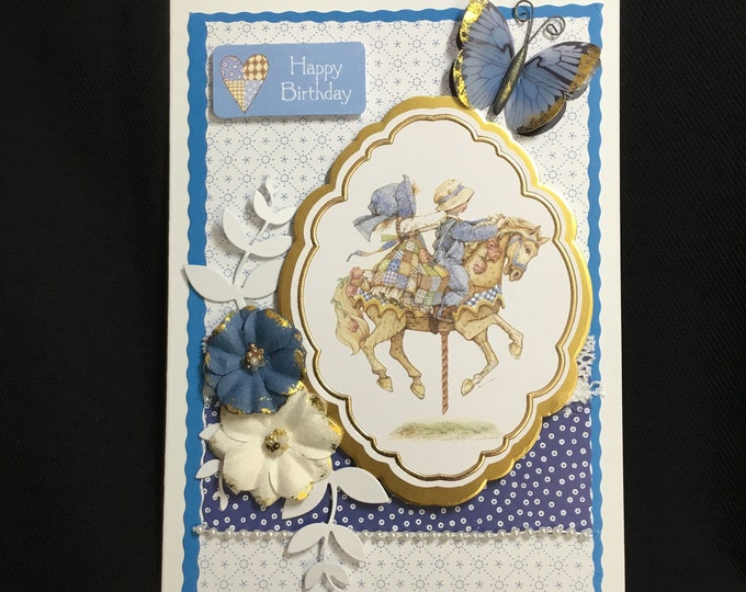 Holly Hobbie Card, Birthday Card, Especially For You, Special Day Card, Special Birthday, Special Occasion, Happy Birthday, Handmade