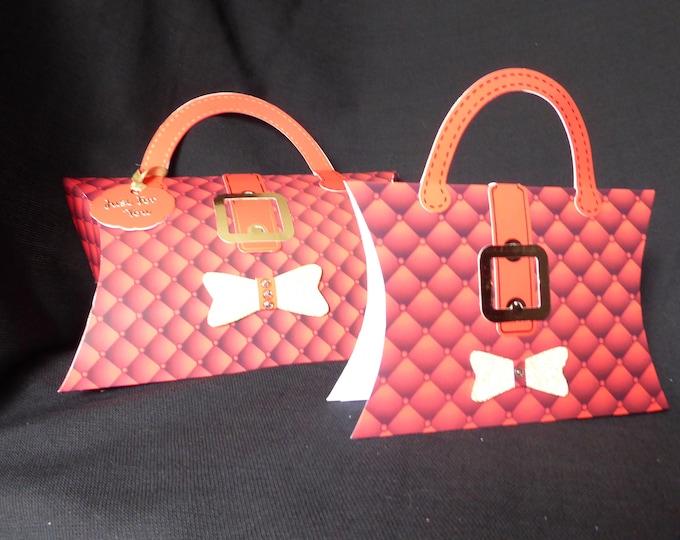 Gift Pocket, Christmas Gift Pocket, Festive Gift Pocket, Seasonal Gift Pocket, Present Pocket,  Handmade In The UK