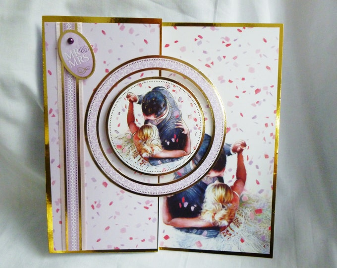 Wedding Day, Special Day, Wedding Card, Greeting Card, Mr and Mrs Card, Couple, Bride and Groom, First Dance,
