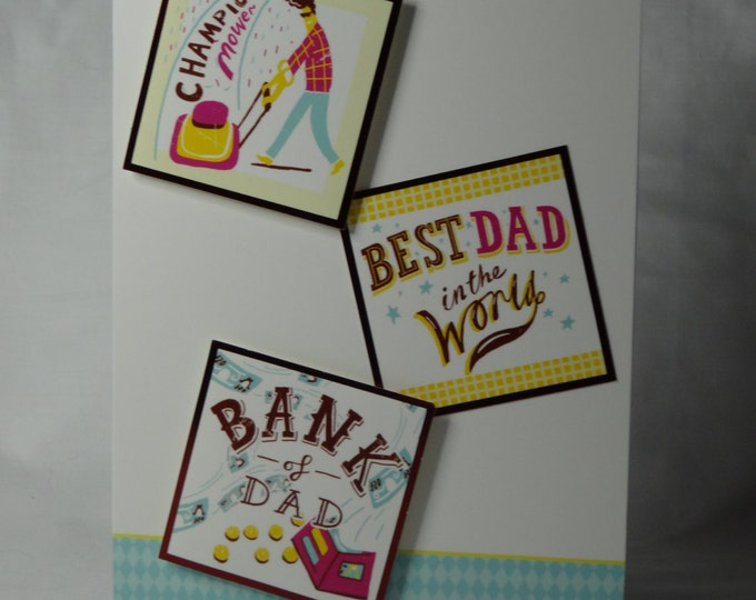 Fathers Day card, Greeting Card, Special Day Card, Especially For You, Special Dad,  Best Dad, Handmade In The UK, Personalised