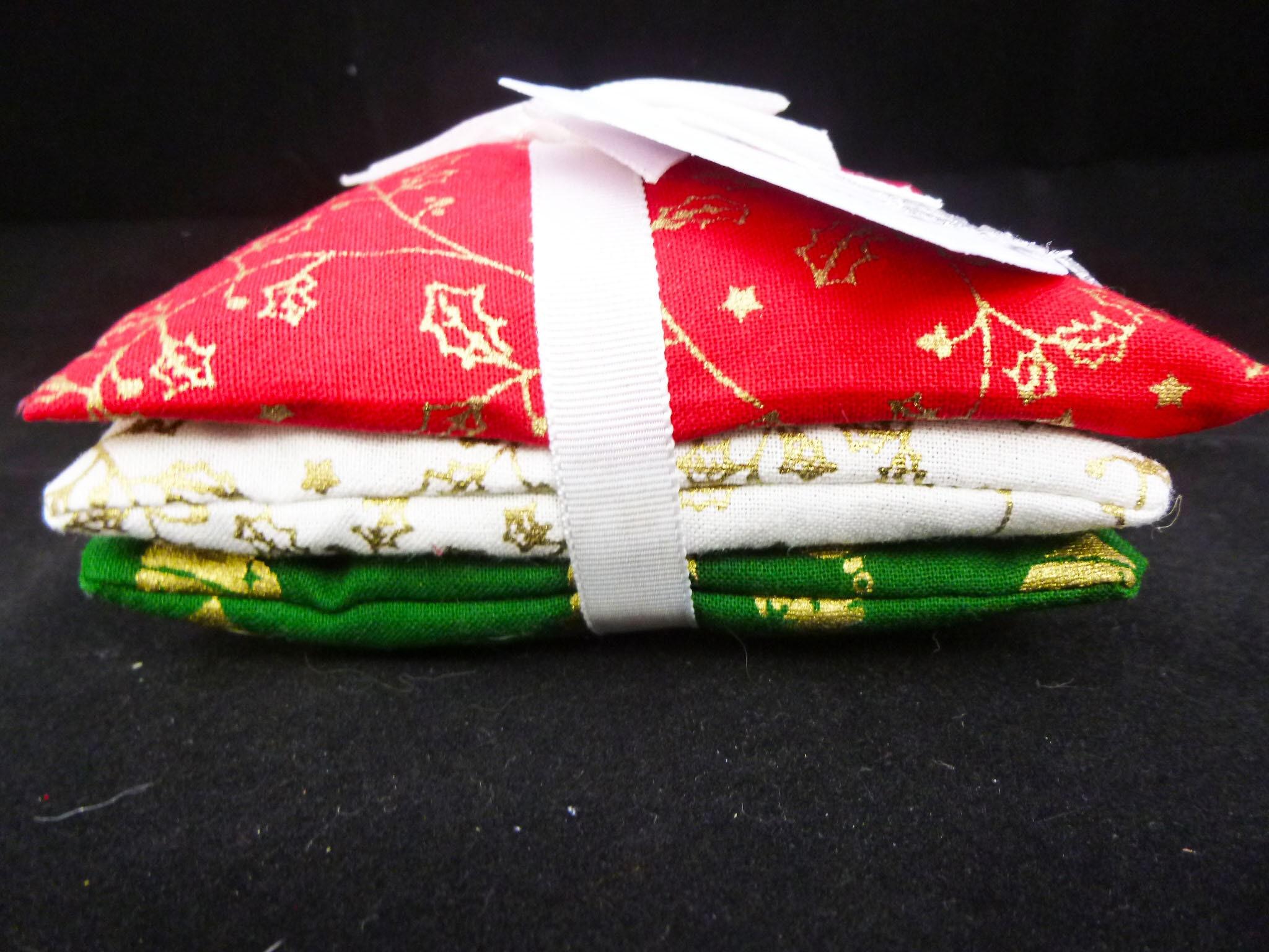 Christmas Gift, Lavender Sachets, Lavender Pillows, Set Of Three ...