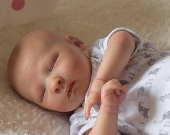 Realborn Joseph. Custom made to order newborn sized reborn baby.