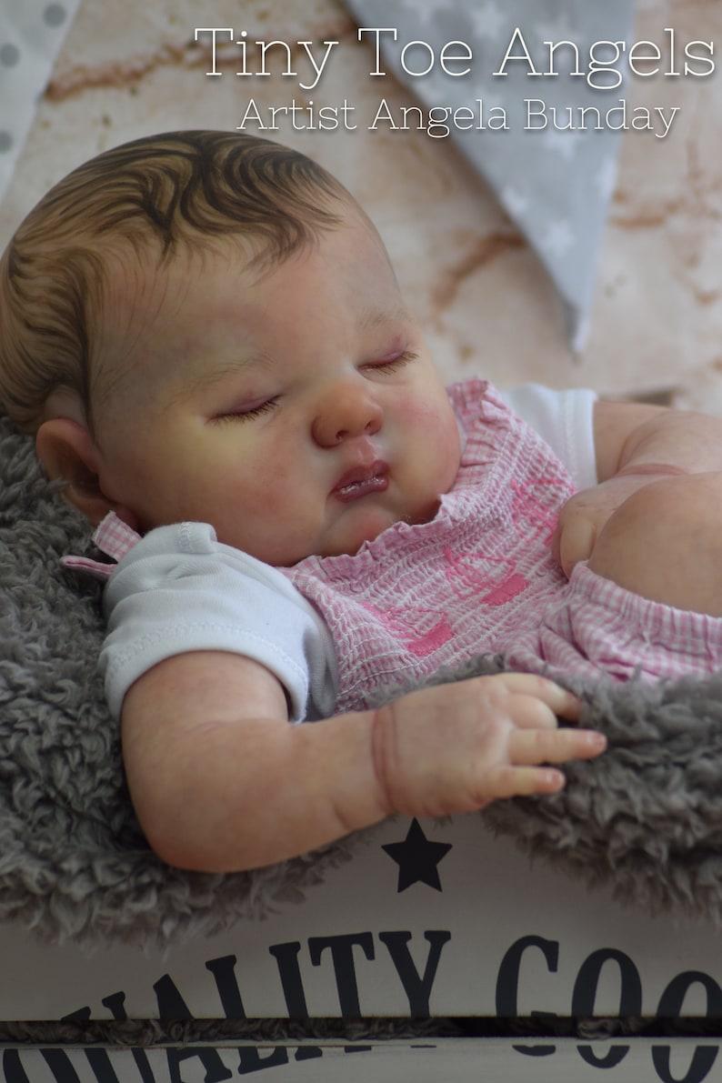 34 limb baby on cloth body 19 inches. Newborn sized reborn baby doll Custom made to order Reborn Spencer