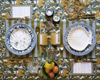 Tablescaping Kit, Tablescape Box, Table Setting Kit, Dinner Table Decor, Dinnerware Sets, DIY tablescaping kit,