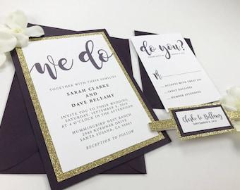 high end invitations etsy