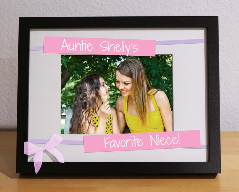 Gift from Aunt Gifts for Nieces Personalized Gift Christmas Gift for Niece Gift from Aunt Christmas Gifts for Aunt FAVORITE NIECE
