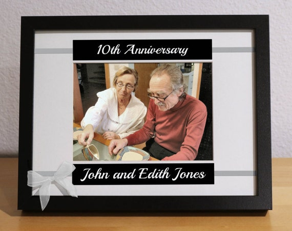 10th Anniversary Gift 10 Year Wedding Anniversary 10th Etsy