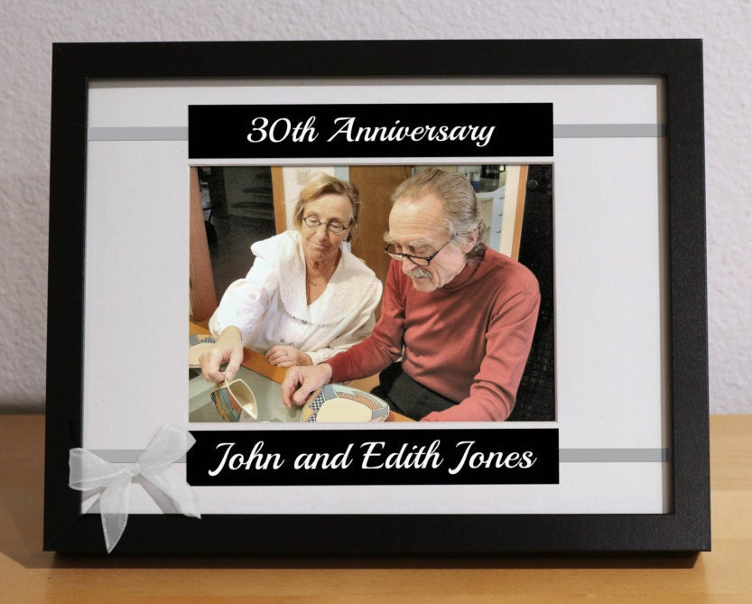 30th Anniversary Gift 30th Wedding Anniversary 30th Anniversary
