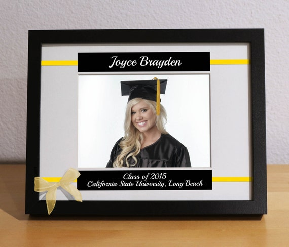 Graduation Gift Class Of 2015 Personalized Frame Custom Etsy