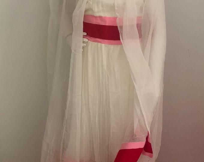 Red Tilet Girl Dress