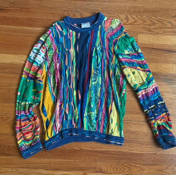 Authentic Coogi Sweater- Size Large