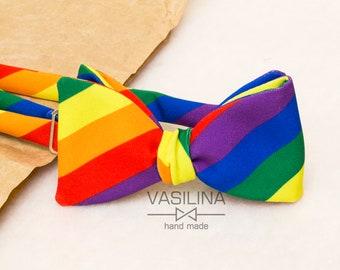 9a5acd6d99ae Pride Selftie, bow tie, Rainbow Bow Tie, Pride Bow Tie, LGBT Flag, pride  bowtie