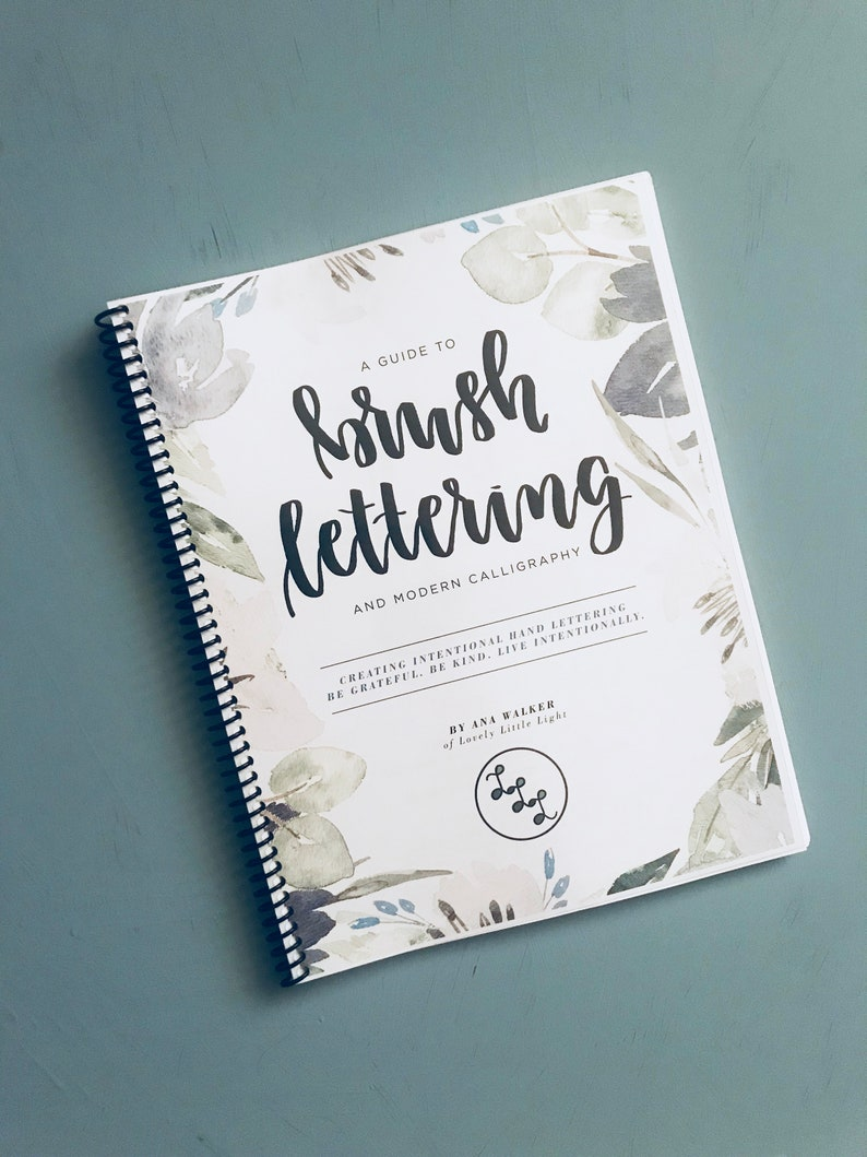 A Guide to Brush Lettering and Modern Calligraphy image 0