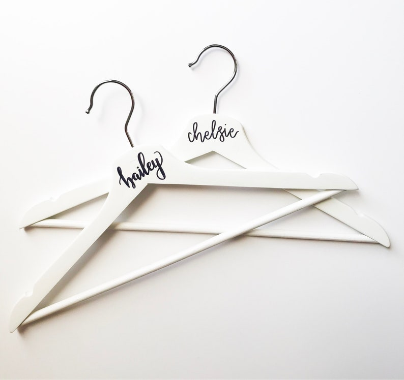 Bridesmaid Hangers  Wedding Party Gift  Bridal Party  image 0