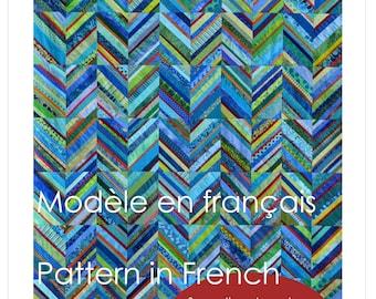 Zigzag String Quilt Pattern