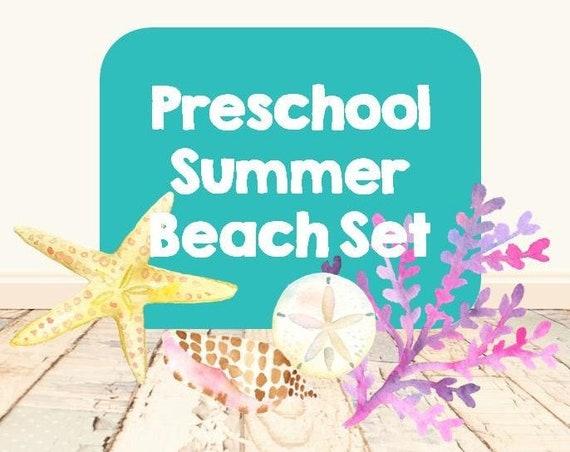Preschool Summer Beach Set