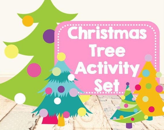 Christmas Tree Activity Set