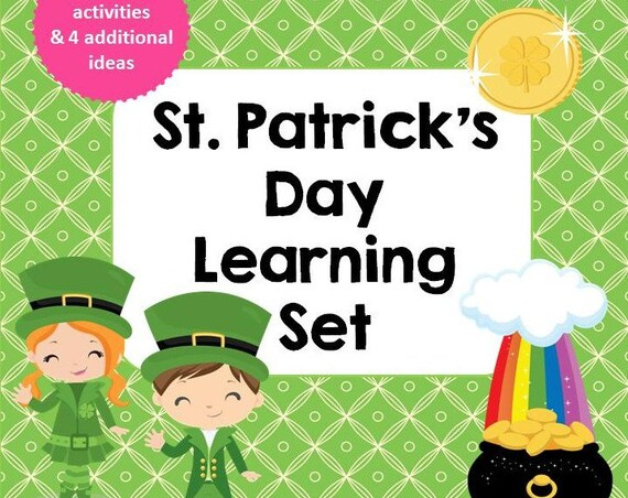 Saint Patrick's Day Learning Set