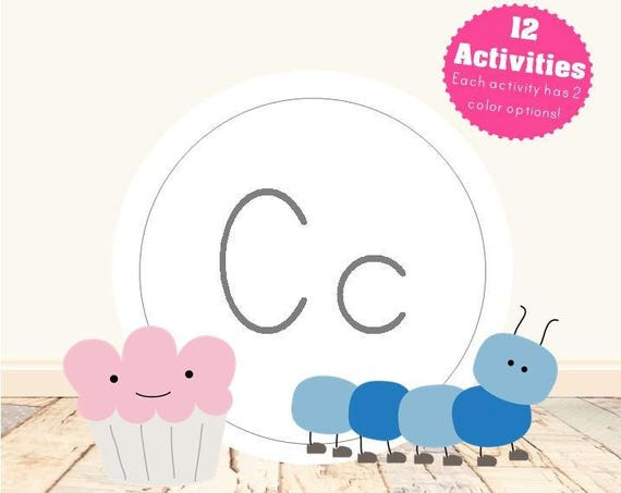 Letter C Alphabet Letter Learning Pack