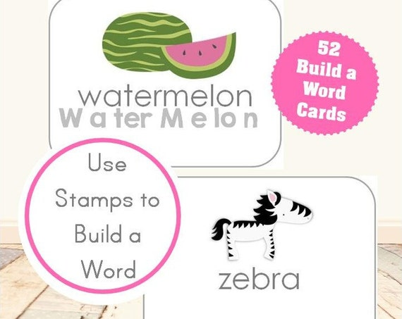 Build a Word Activity Cards
