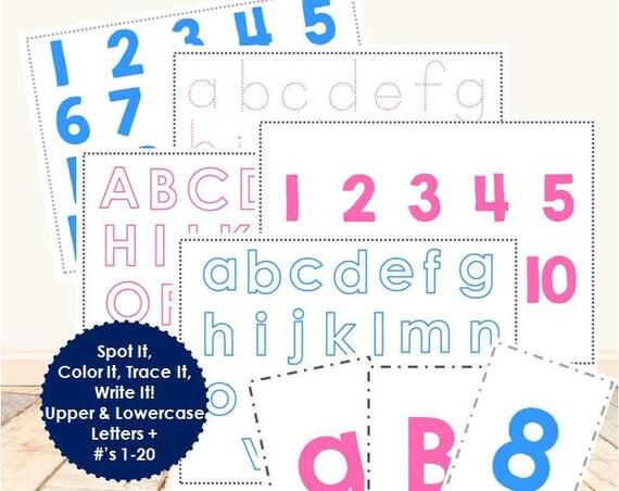 Spot It, Color It, Trace It, Write It Set