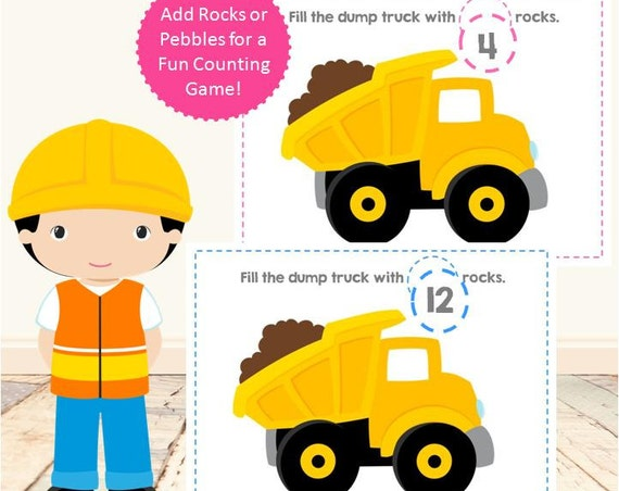 Counting Rocks Construction Set