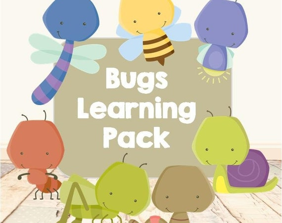 Bugs Learning Pack