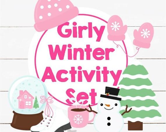 Girly Winter Activity Set