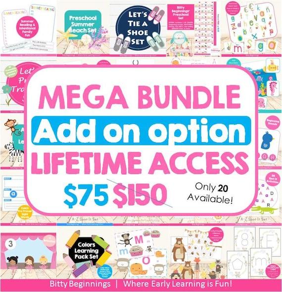 MEGA Bundle Lifetime Access Add-On Option