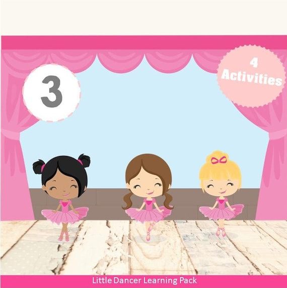 Little Dancer Ballerina Learning Pack