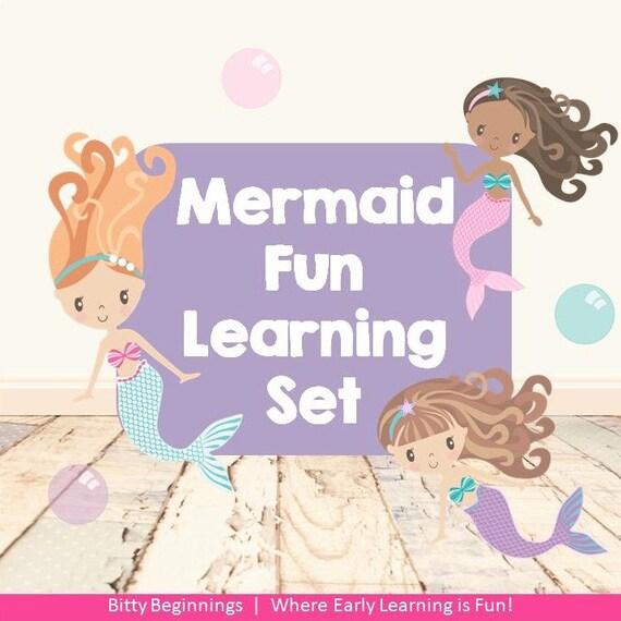 Mermaid Fun Learning Set