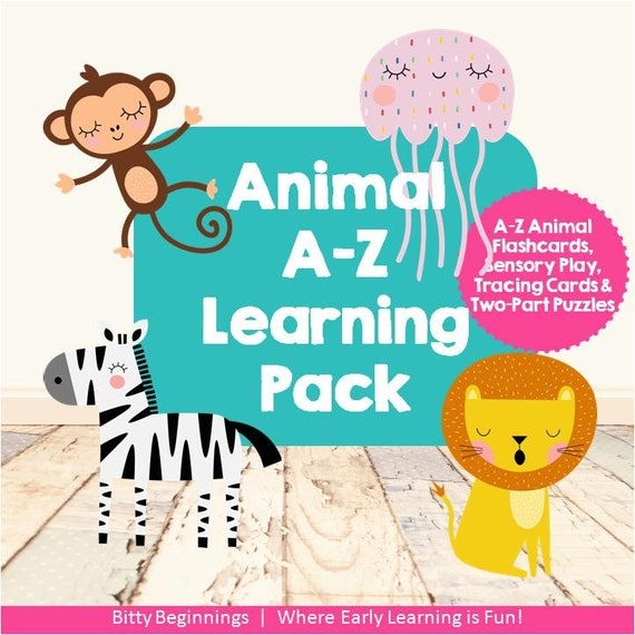 Animal A-Z Learning Pack