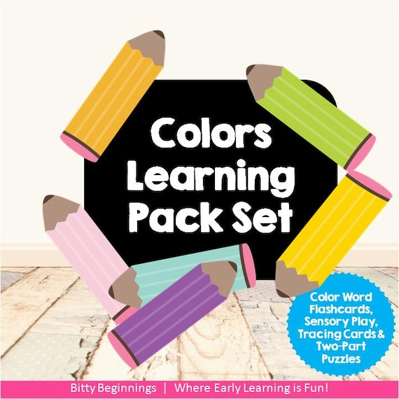 Colors Learning Pack