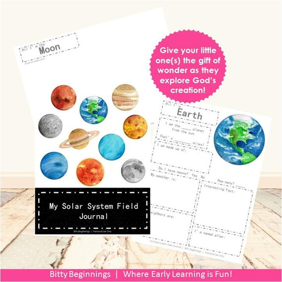 My Solar System Field Journal