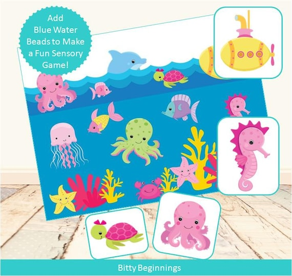 Under the Sea Sensory Look & Find