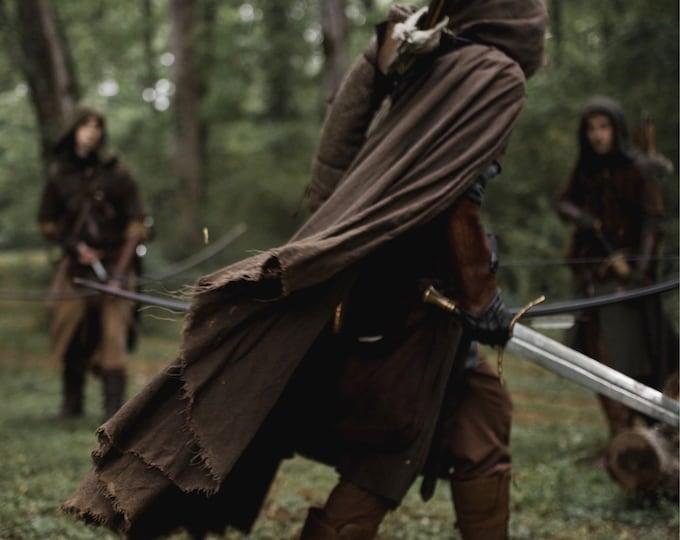 Featured listing image: Medieval Ranger Cloak - Linen