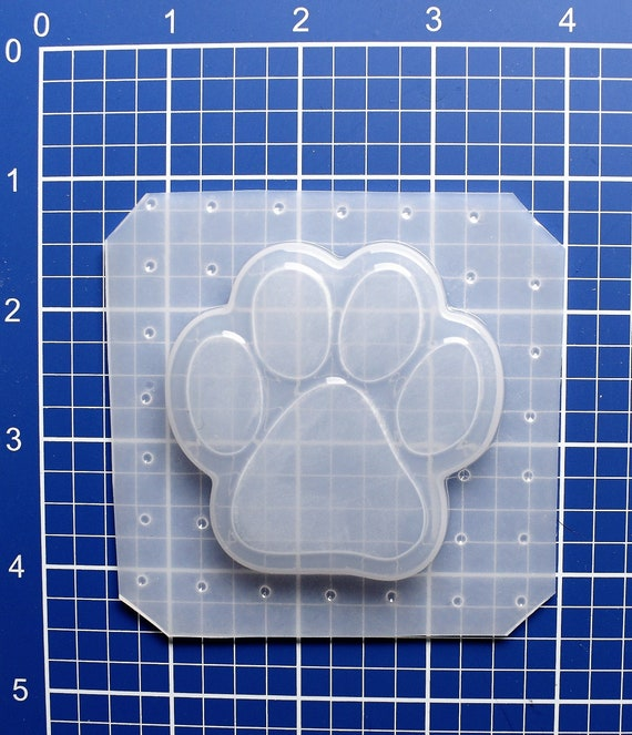Paw Mold, Animal Mold, Resin Jewelry Mold, Kawaii Mold, Flexible Plastic  Mold, Phone Charm, Resin Supplies, Paw Shape Mold, Cabochon Mold