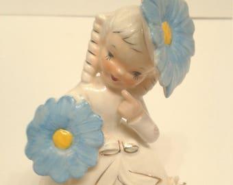 Napco September Birthday Girl Figurine