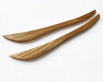 Wooden Hair Sticks Pair, hair stick wood, hairstick,shawl pin, hair pin wood, hair stick, hair pin, wood, hairstick pair, haarschmuck