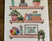 Focus on the good print