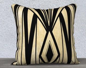 Art Deco Diamond Pillowcase