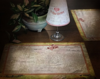 Wine Lovers Placemat set