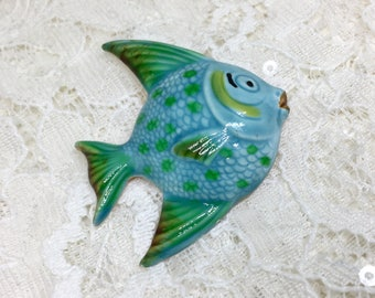 Vintage Original By Robert Signed Ename Fish Brooch