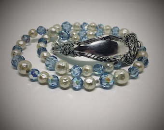 Handmade Doublewrap Spoon Bracelet