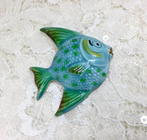 Vintage Original By Robert Signed Ename Fish Brooch
