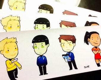 Star Trek Stickers