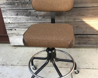 Drafting Chairs, Sewing Chairs, Vintage, Industrial, On Casters